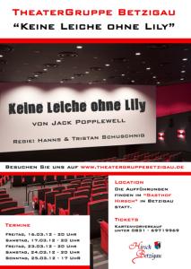 Theater Betzigau - Keine Leiche ohne Lily